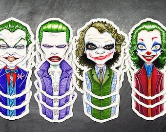 """Single """"Joker"""" Stickers"""