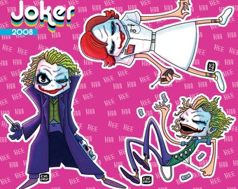 "Heath ""Joker"" - Sticker Sheet!"