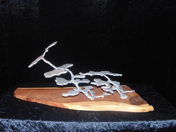 Aluminum casting of a Harvester Ant colony