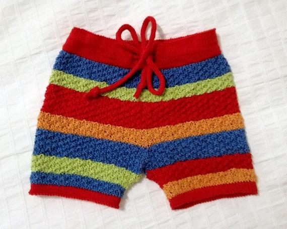 Handmade baby short pantaloncino neonato fatto a mano  0ebd37235268