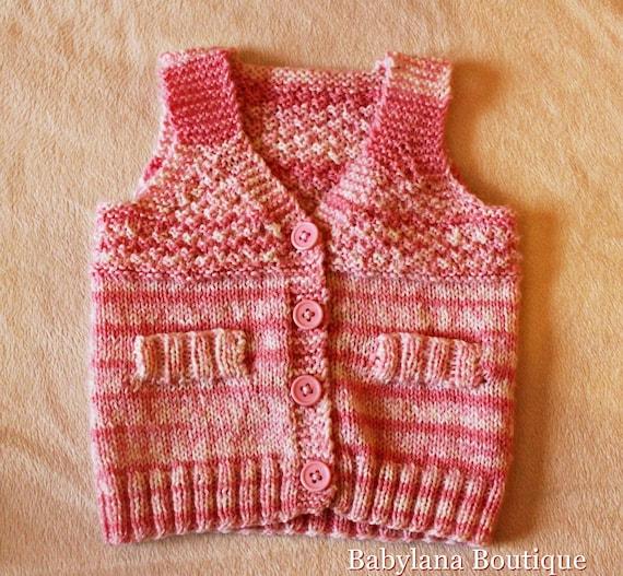 Gilet fatto a mano neonato handmade baby knitting. Ready to  7e517440ea18