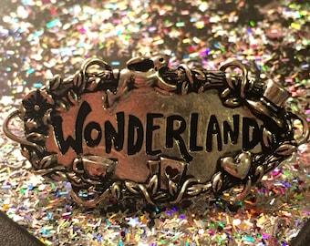 Wonderland pin