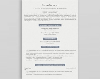 Modern Resume Template | Professional Resume Template | 3 Page Resume Template | Creative Resume| CV Design | Resume Template Professional