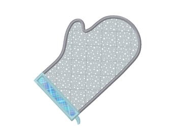 9 SIZES Oven Mitt Applique Embroidery Designs Machine Embroidery Designs PES Embroidery Pattern - Instant Download