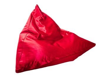 Seat bag cushion for children XL New 100 cm x 100 cm armchair Relaxkissen Little Red