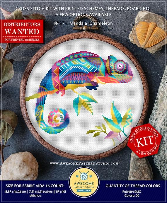 Needlepoint Kits Stitch Patterns Cross Stitch Patterns Funny Animals Cross Stitch World Embroidery Designs Mandala Frog #K207 Embroidery Kit