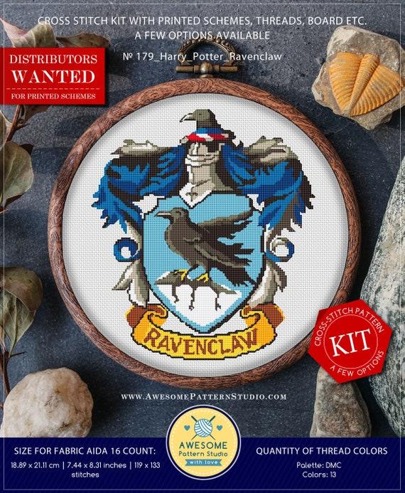 790ea5462e76 Harry Potter Ravenclaw K179 Cross Stitch Kit Cross Stitch