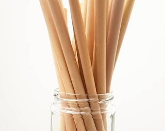 4 x BAMBOO Drinking straws #reusable)
