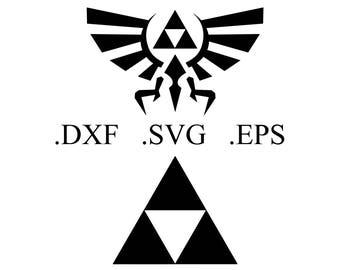 Legend of Zelda Vector Cut File (DXF, SVG, EPS)