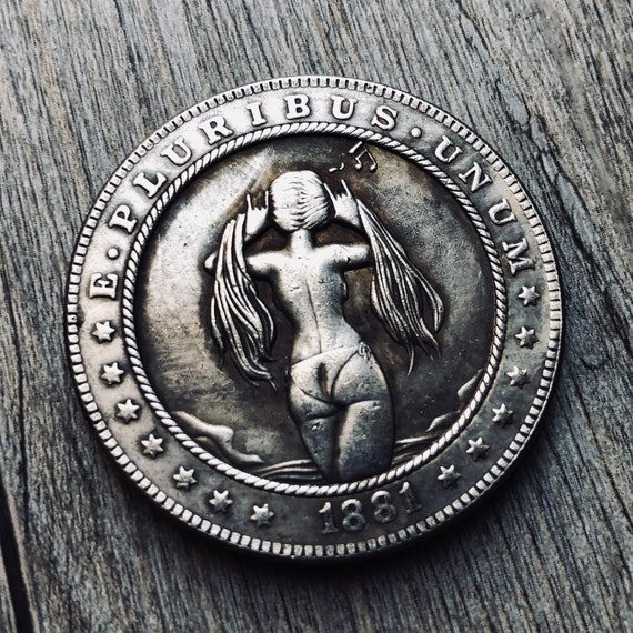 Hobo Nickel Sexy Girl -  EDC
