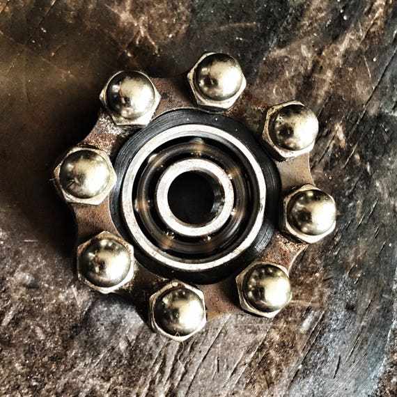 Fidget Spinner Bike Chain OLD QUEEN