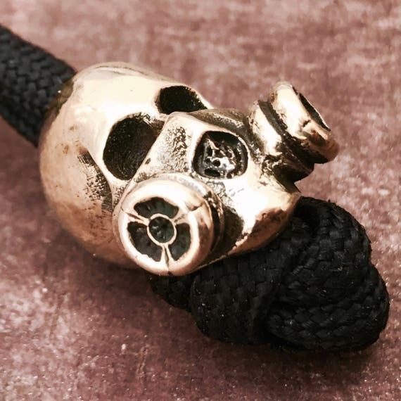 Mask Skull Paracord Bead EDC