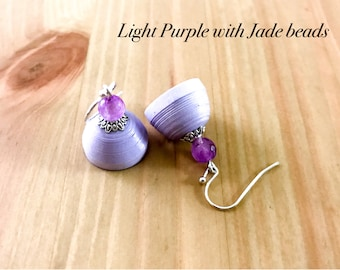 Small Paper Jhumkas| Small Dangle Paper Earrings with Beads| Gifts for her| Birthday return favors