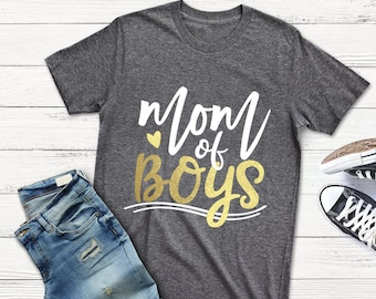 Mom Of Boys, Mom Of Boys svg, Mommy Boy Mother Boys Newborn Baby, instant download, eps, png, pdf, svg file,  Commercial Use Cut Files