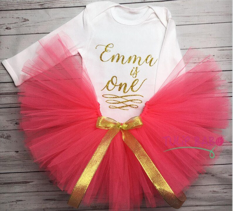 Cute Birthday Tutu Outfit First birthday outfit! Many Colors Available