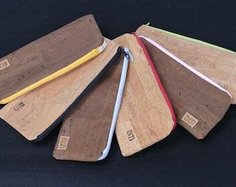 Pencil case made of cork
