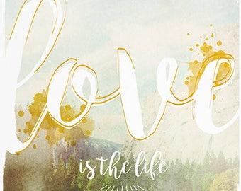 Love illustration / print 21 X 29, 7 / Emilie Raguin