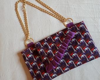 LeBoncine cotton twill bag/clutch bag