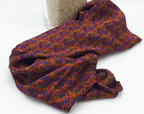 Pattern pattern pure silk scarf scarf