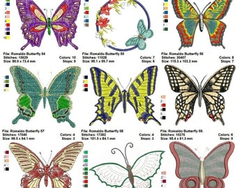 """Romaldo's 27 Butterflies: a Top Notch and VERY Special """" Butterflies Collection number 3 """""""