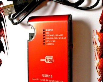Janome Card Reader/Writer - USB Connection 24 Function in 1
