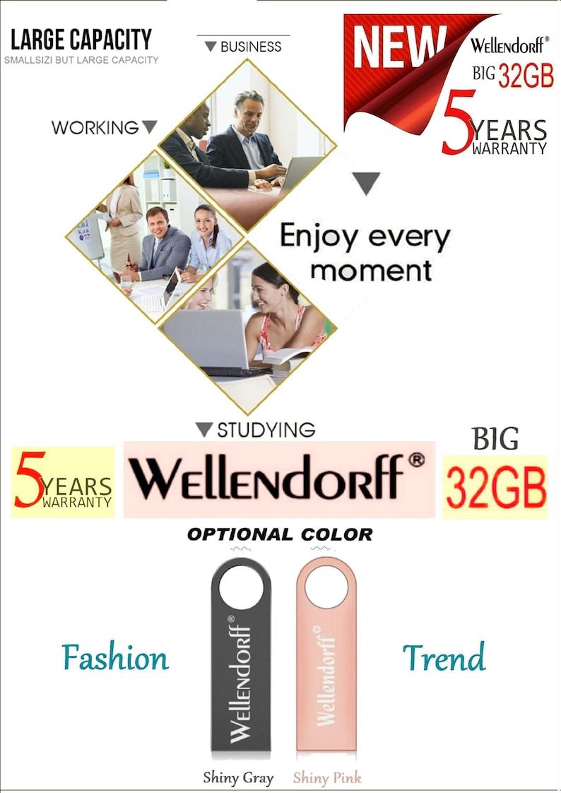 grand choix de vente à bas prix une grande variété de modèles Original German WELLENDORFF: a Big 32GB USB Flash Drive