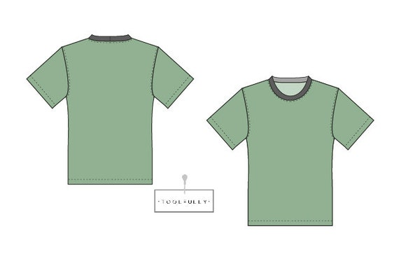 T Pattern Homme Medium Shirt Patron Pdf Men Tl1JcFK3