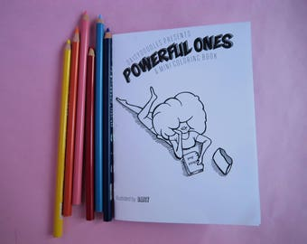 Mini Coloring Book: Powerful Ones