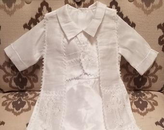 ähnliche Artikel Wie Jungen Taufe Outfit Set Baby Weiß
