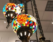 Turkish Floor Lamp (5 bulbs, produced for US electric system) Free Shipping