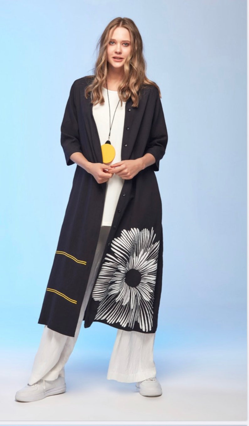 long summer duster cardigan  Mothers Day Gift Long natural duster cardigan long lightweight duster cardigan