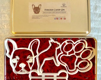 Frenchie Cookie Cutter Set