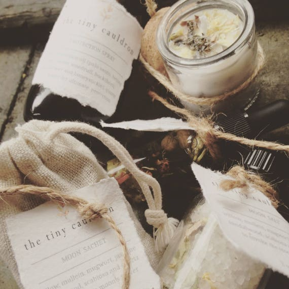 Spell Ritual Kit, for witchcraft supply, spell casting and altar tools