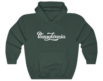 Pennsylvania The Quaker State Adult Hooded Sweatshirt