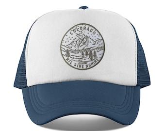 f0e51effabf Colorado Baby Trucker Hat - State Design Snapback Colorado Infant Hat    Toddler Hat   Kid s Hat