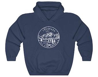 Denver Colorado Youth Hoodie Hooded Sweatshirt