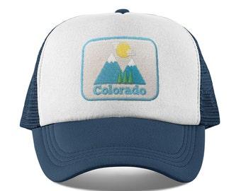 ab0005e74b3 Colorado Baby Trucker Hat - Snapback Bluebird Colorado Infant Hat   Toddler  Hat   Kid s Hat