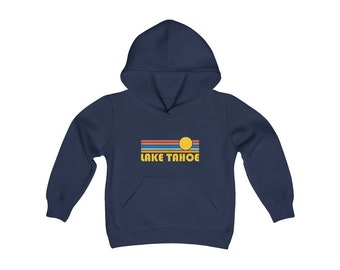 California Kids Sweatshirt Big Bear Minimal Mountain Youth Hoodie