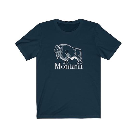 Montana Shirt Buffalo T Shirt Montana - chemise Montana unisexe adulte 31ab7a