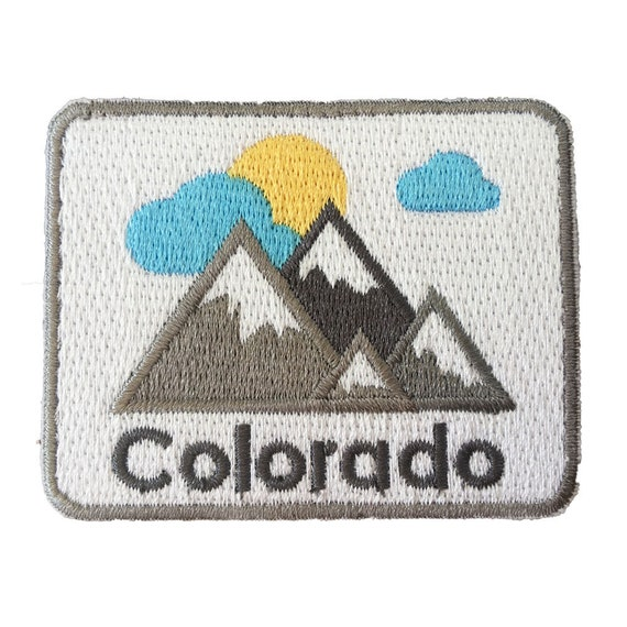 DENVER Iron On Printed Patch Colorado