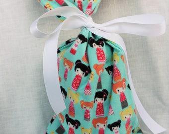 Cloth Gift bag - Nesting Doll Wrap - Reusable Gift Bag, Eco Friendly Gift Bag (misc.)