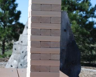 Value Yard Wood Block Stacking Toy Game