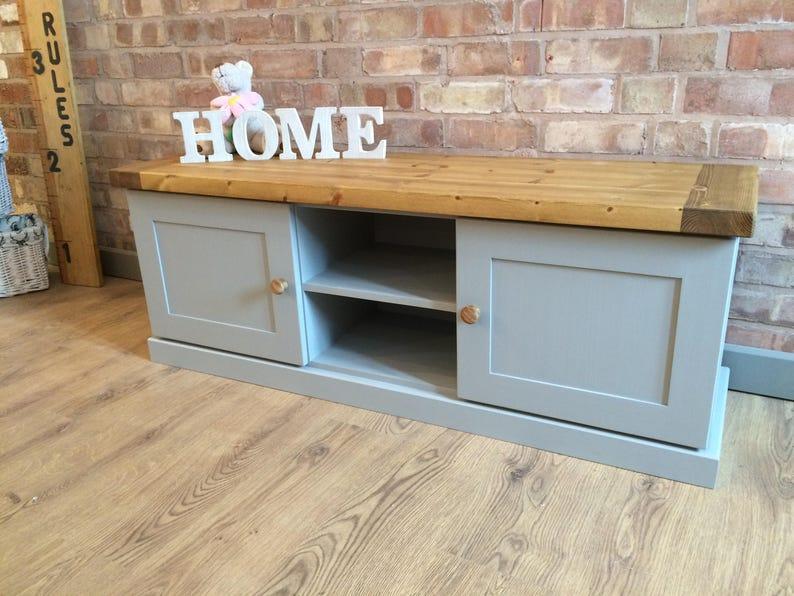 Bespoke Handmade Solid Pine TV Cabinet