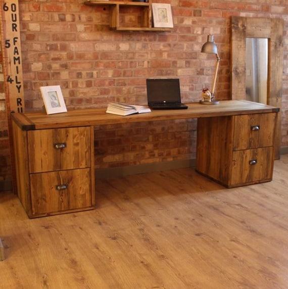 Office Furniture Pedestal Desk, Industrial Office Furniture