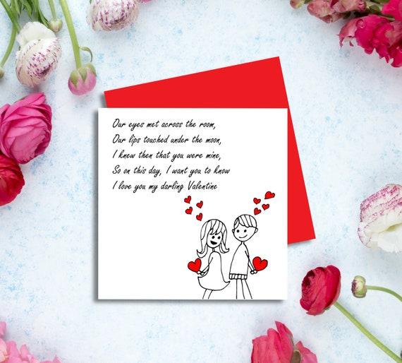 Fab HUSBAND VALENTINE/'S DAY CARD ~ QUALITY VALENTINES Bear Design