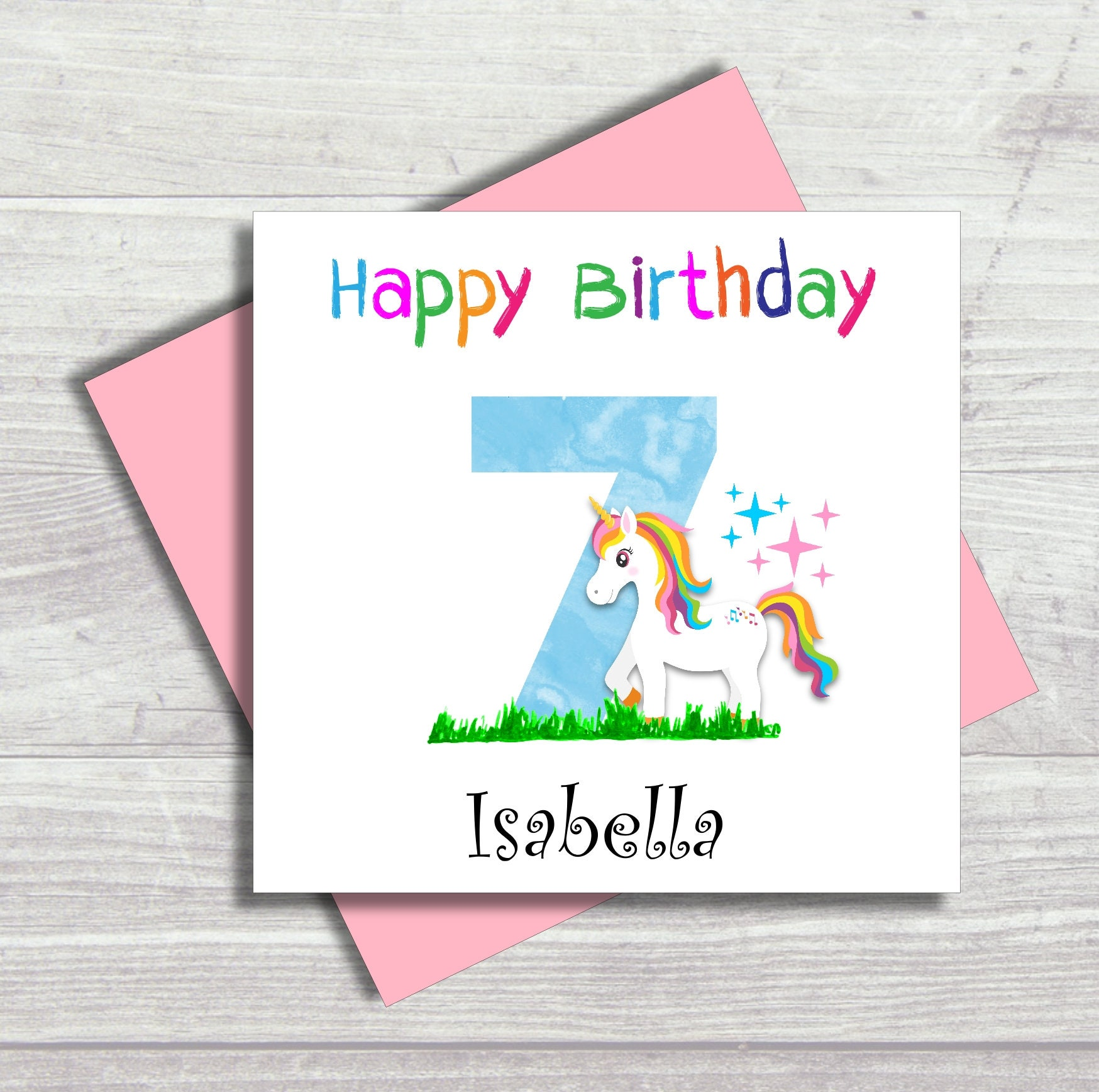 84 Cute Unicorn Birthday Cards