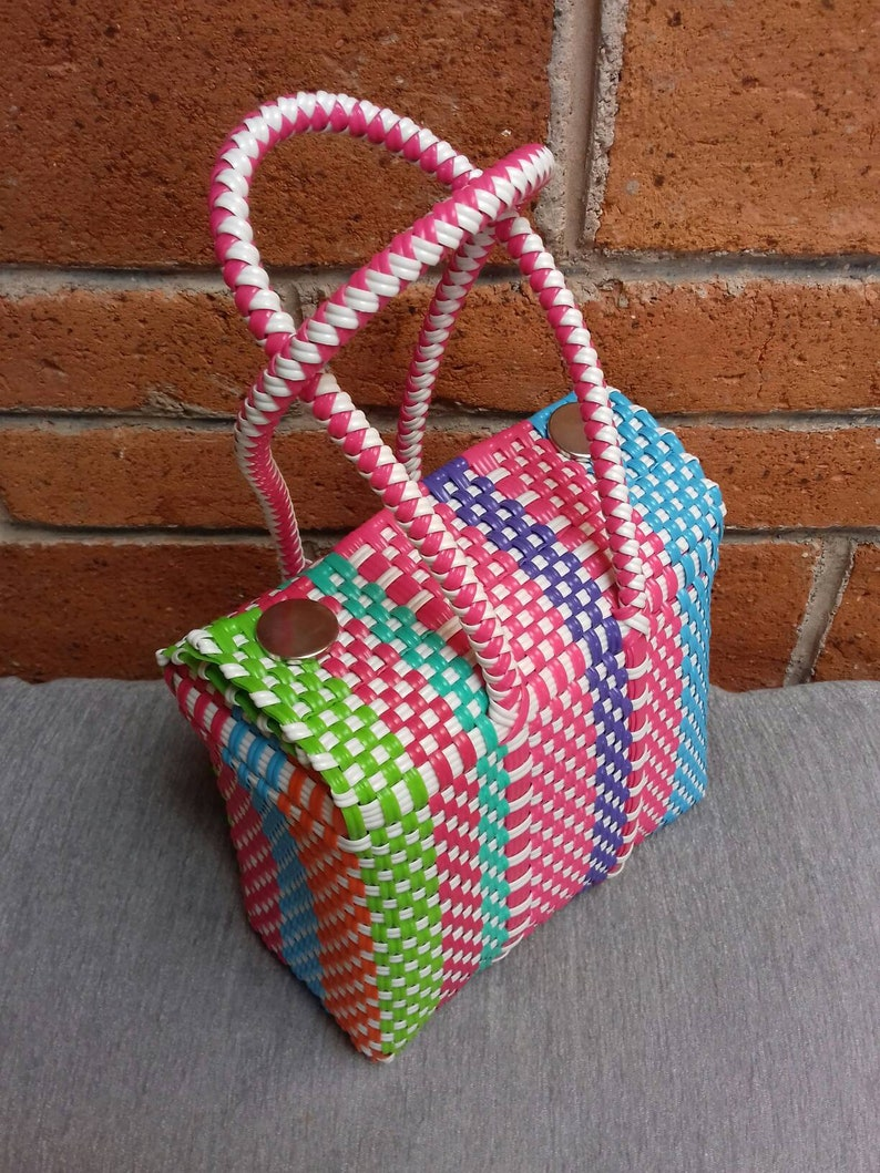 02dbd4914d Handcrafted bags from Mexico hand-woven. Handwoven bags made
