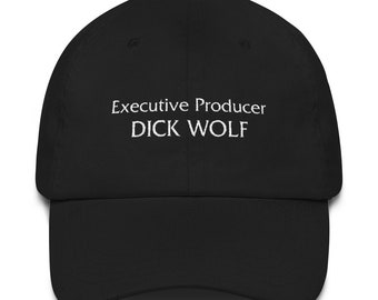 f09b2c206c0 Executive Producer Dick Wolf Dad Hat Black