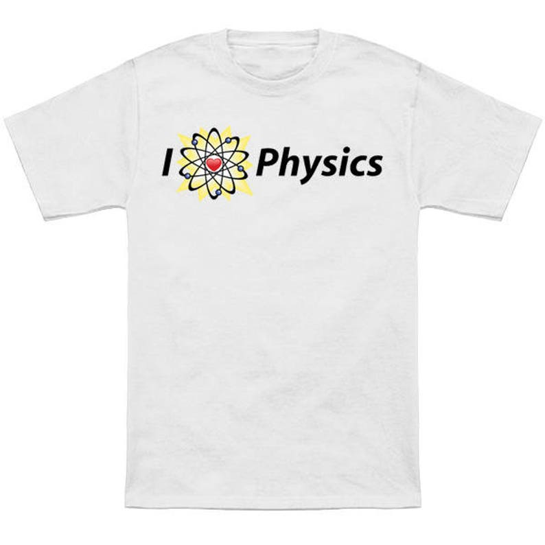 I Heart Physics Kids Shirt / Future Physicist / Pro-Science / Kids / Baby /  Youth / Geeky Kids / Gifted Kids / STEM
