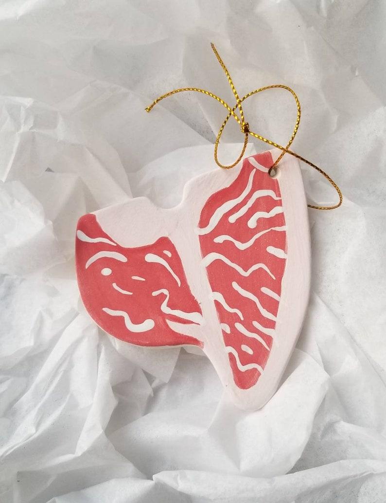 Porterhouse Steak Ornament